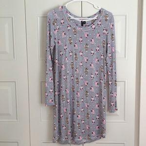 NWOT Kensie Owl Nightdress